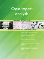 Cross impact analysis Standard Requirements