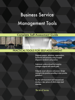 Business Service Management Tools Complete Self-Assessment Guide