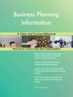 Business Planning Information A Clear and Concise Reference