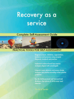 Recovery as a service Complete Self-Assessment Guide