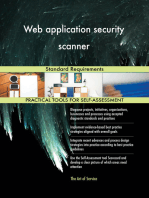 Web application security scanner Standard Requirements