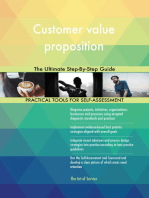 Customer value proposition The Ultimate Step-By-Step Guide