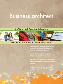Business architect A Clear and Concise Reference