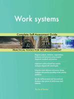 Work systems Complete Self-Assessment Guide