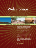 Web storage A Clear and Concise Reference