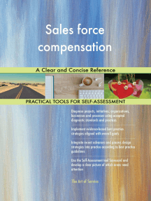Sales force compensation A Clear and Concise Reference