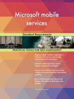 Microsoft mobile services Standard Requirements