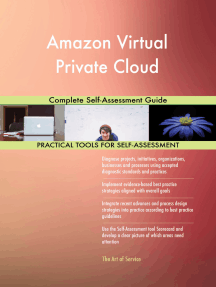Amazon Virtual Private Cloud Complete Self-Assessment Guide