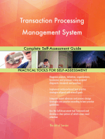 Transaction Processing Management System Complete Self-Assessment Guide