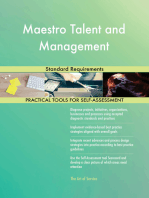 Maestro Talent and Management Standard Requirements