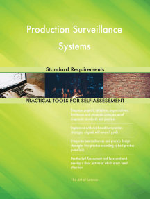 Production Surveillance Systems Standard Requirements