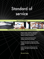Standard of service Second Edition
