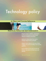 Technology policy A Clear and Concise Reference