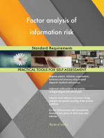 Factor analysis of information risk Standard Requirements
