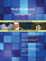 Electronic resource management Standard Requirements