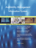 Availability Management Information System Third Edition