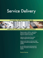 Service Delivery Complete Self-Assessment Guide