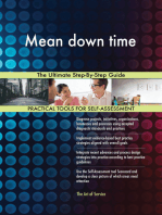 Mean down time The Ultimate Step-By-Step Guide