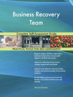 Business Recovery Team Complete Self-Assessment Guide