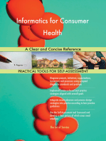 Informatics for Consumer Health A Clear and Concise Reference