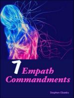 7 Empath Commandments