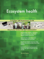 Ecosystem health Complete Self-Assessment Guide