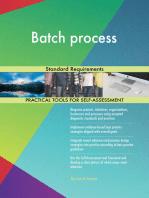 Batch process Standard Requirements