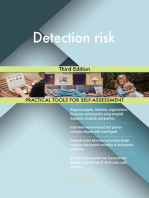 Detection risk Third Edition