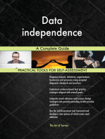 Data independence A Complete Guide