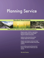 Planning Service Standard Requirements