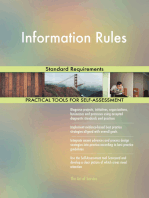 Information Rules Standard Requirements
