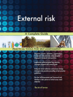 External risk A Complete Guide