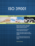 ISO 39001 Complete Self-Assessment Guide