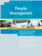 People Management Standard Requirements