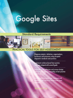 Google Sites Standard Requirements