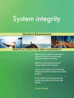System integrity Standard Requirements
