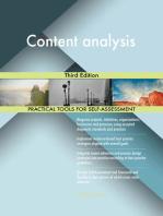 Content analysis Third Edition