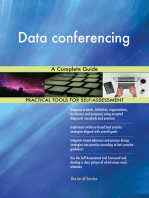 Data conferencing A Complete Guide