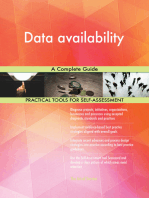Data availability A Complete Guide