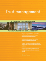 Trust management A Clear and Concise Reference