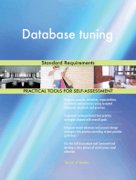 Database tuning Standard Requirements