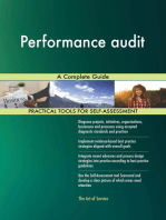 Performance audit A Complete Guide