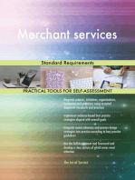 Merchant services Standard Requirements