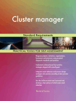 Cluster manager Standard Requirements