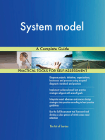 System model A Complete Guide