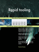 Rapid tooling Standard Requirements