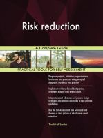 Risk reduction A Complete Guide