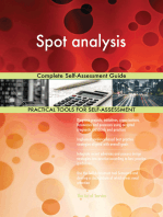 Spot analysis Complete Self-Assessment Guide