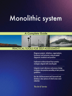 Monolithic system A Complete Guide