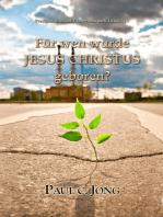 Predigten über das Evangelium nach Lukas(I) - Für Wen Wurde Jesus Christus Geboren?